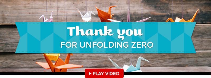 Thank you for Unfolding zero