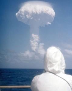 Nuclear test near Kiritimati Island (Christmas Island) in Kiribati