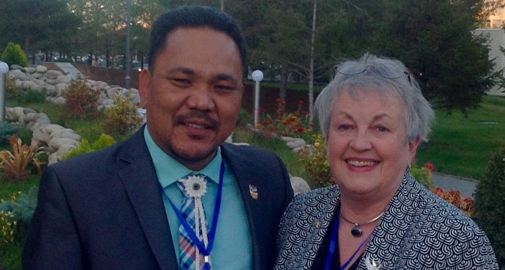 Marshall Islands speaker urges disarmament during visit to Kazakhstan test site