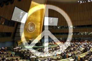 UN CND sign
