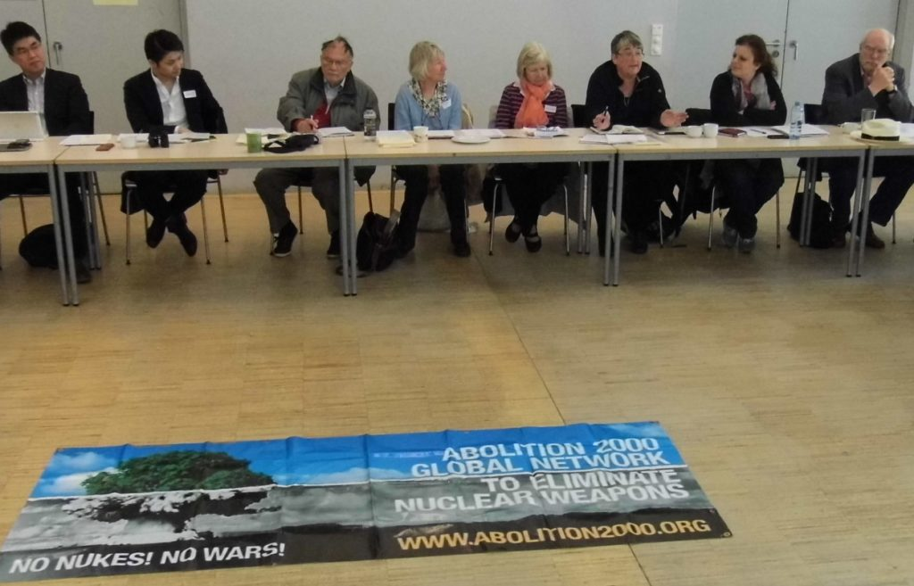 Report from the Abolition 2000 Interfaith working group