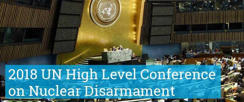 2018 UN High Level Conference