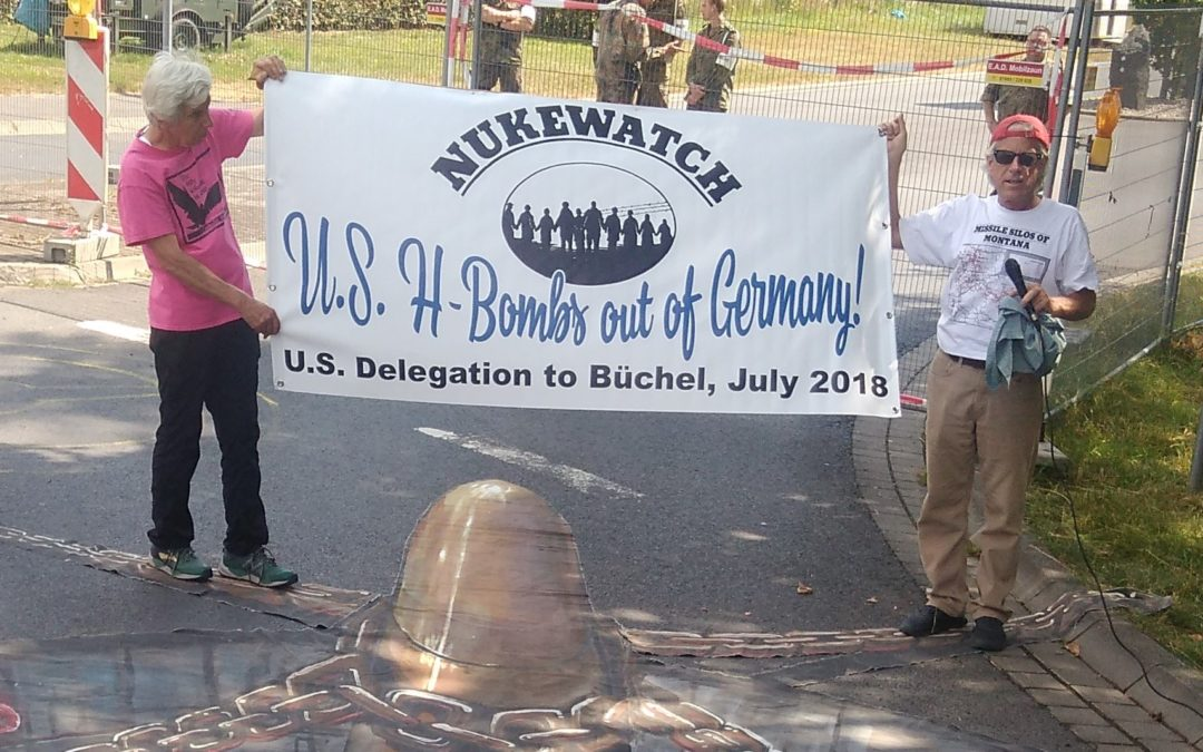 International protest at Büchel nuclear weapons base precedes Trump-Putin Summit