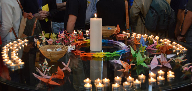 Actions and events around the world for Hiroshima and Nagasaki Days