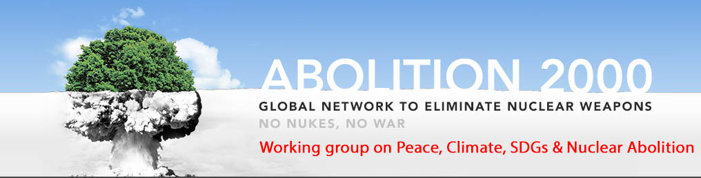 A global week for peace, climate protection, SDGs and nuclear abolition: Sep 21-26