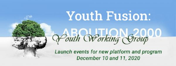 Abolition 2000 Youth Group re-launch event