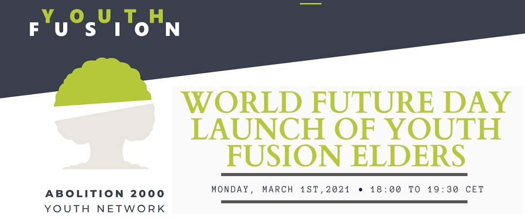 Youth Fusion to launch Elders initiative on World Future Day, March 1